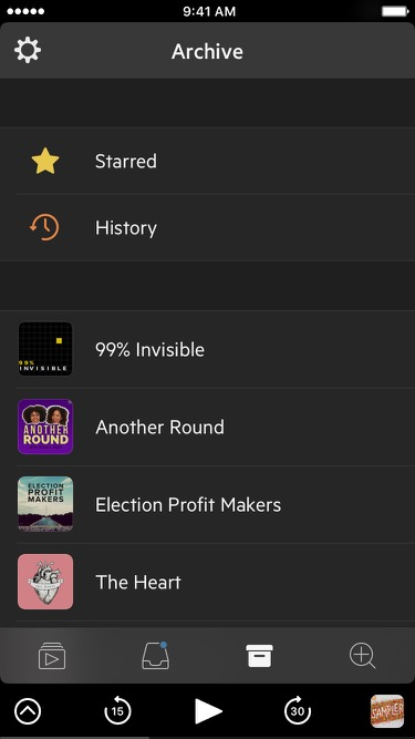 Screenshot of Castro