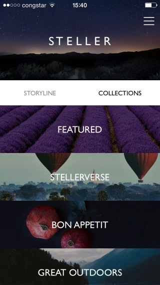 Screenshot of Steller
