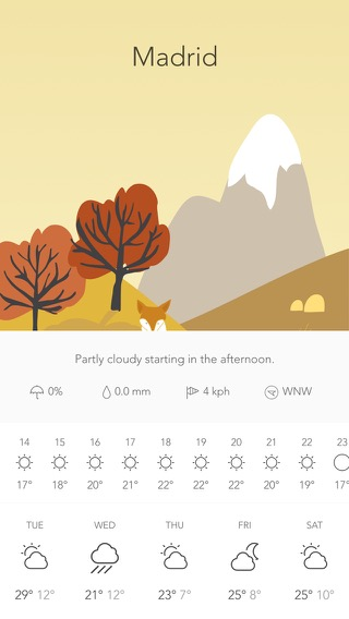 Screenshot of Wild Weather